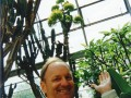 Professor Donovan at Oxford, Arboretum Plant that only blooms once in a decade (1991)